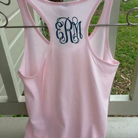 Heat Transfer Vinyl Monogram shirts