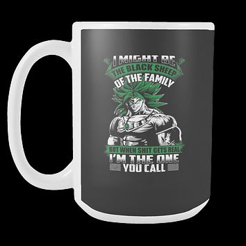 Super Saiyan - Broly is not a black sheep - 15oz Coffee Mug - TL01217M5