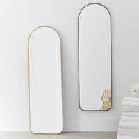 Metal Framed Full Length Mirror