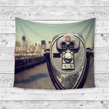 """View Finder"" Wall Tapestry"