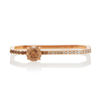 One-Of-A-Kind Ombre Solitaire Double Finger Ring | Moda Operandi
