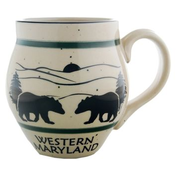CMMD41 Coffee Mug Speckled Barrel Western Maryland