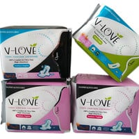 3-PACK BUNDLE PAIN FREE PERIOD PADS with NEGATIVE IONS for Women
