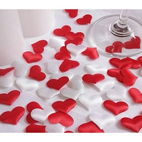 50pcs/bag Wedding decoration throwing heart petals wedding table decoration valentines day decoration party supply [7980699655]