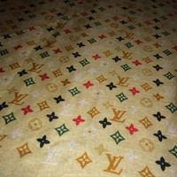 "Sale!! Vintage ""Inspired"" LOUIS VUITTON fashion Bandana LV style wrap scarves"