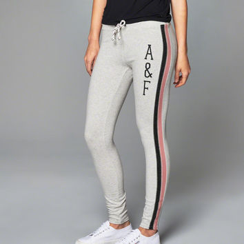 Womens Graphic Fleece Leggings | Womens Clearance | Abercrombie.com