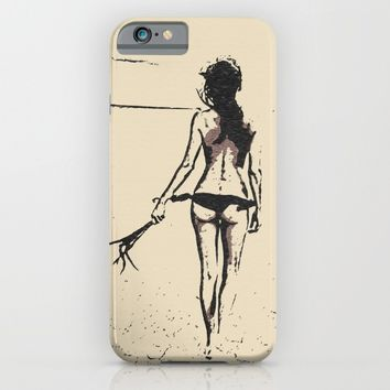 Bikini Girl - sexy conte iPhone & iPod Case by Peter Reiss