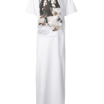 John & Yoko Peace Love Oversize Maxi T-Shirt Dress