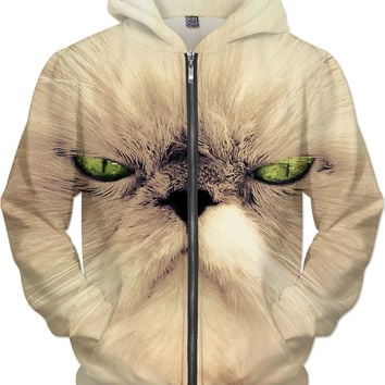 Angry Cat Hoodie