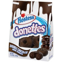 Hostess? Donettes? Double Chocolate Mini Donuts 11.25 oz. Bag - Walmart.com