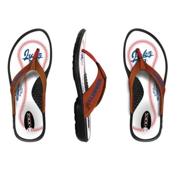b5b249c7ac22c3 Shop Baseball Flip Flops on Wanelo