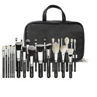 NEW ARRIVAL EXCELLENT QUALITY ZOEVA 25PCS MAKEUP BRUSH LUXE +CASE