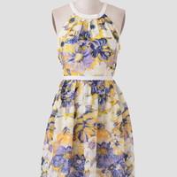 Fresh Florals Printed Dress
