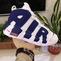 Nike Air More Uptempo Knicks 415082-103 Size 36-46