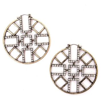 BKE Southwestern Cut-Out Earring