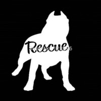 PIT BULL DOG RESCUE VINYL DECAL STICKER for CAR TRUCK SUV LAPTOP PIT BULL