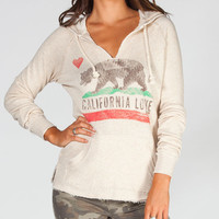 Billabong Follow Love Womens Hoodie Oatmeal  In Sizes