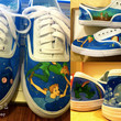 Custom Hand-Painted Sneakers