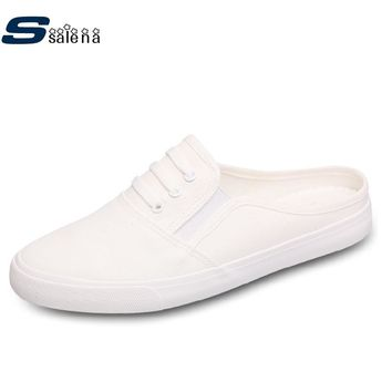 Beach Slippers Non-Slip Summer House Slippers Men Flats All Match Casual Shoes A856