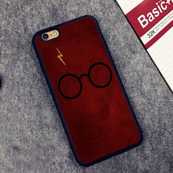 Red Harry Potter Printed Soft TPU Skin Mobile Phone Cases OEM For iPhone 6 6S Plus 7 7 Plus 5 5S 5C SE 4 4S Back Cover Shell