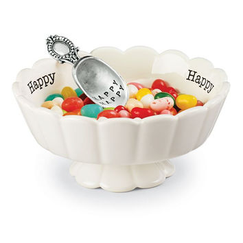 Happy Candy Dish Set by Mud Pie