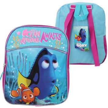 """12"""" Finding Dory Mini Half Moon Backpack - CASE OF 12"""