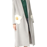 Oversized Egg Coat
