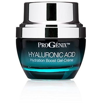 Progenix Hyaluronic Acid Cream. Moisturizing facial moisturizer with Hyaluronic Acid for dry skin,...
