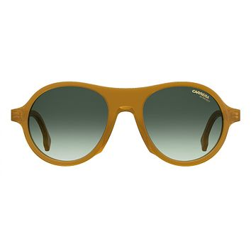 Carrera - 142 Yellow Sunglasses / Grey Green Lenses