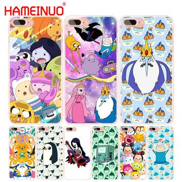 HAMEINUO Adventure time Pokemons Pokes Ball Coque cell phone Cover case for iphone 6 4 4s 5 5s SE 5c 6s 7 8 plus X