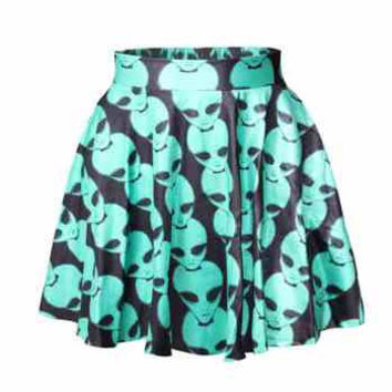Alien Skirt - Alien Clothing - 90s - Grunge