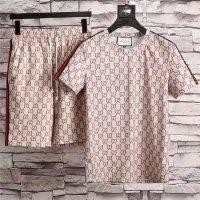 Gucci men's Short sleeve, the upper body effect is very good, fashion hundred simple short sleeve ❀027