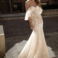 Berta Off the Shoulder Mermaid Gown (In Stores Only) | Nordstrom
