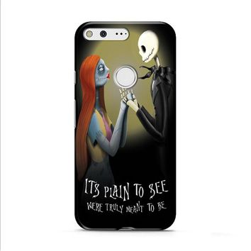 Nightmare Before Christmas (jack sally) Google Pixel XL 2 Case