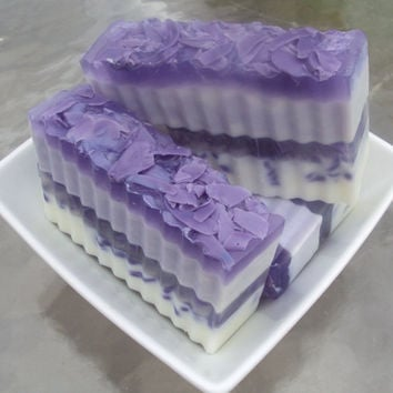 Purple Angel Type  Goats Milk Glycerin and by sugarandspicesoaps