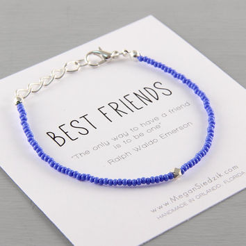 Best Friends Bracelet Geometric, Best Friend Bracelet, Friend Bracelet, Friendship Jewelry, Best Friend Jewelry, Simple, Modern, Stackable