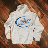 Dilly Dilly Blue White Unisex Hoodie Sweatshirt
