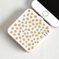 Travel Beauteous Backup Battery Pack in Spots by ModCloth