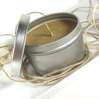 Scented Soy Candle - Mountain Hazelnut Cafe scented Soy Candle -- 8 ounce Tin