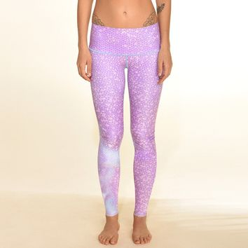 mermaid fairyqueen lavender hot pants