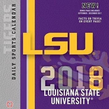 Louisiana State Tigers Desk Calendar, LSU Tigers by Turner Licensing