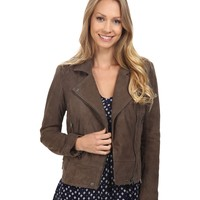 Lucky Brand Suede Moto Jacket