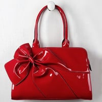 Patent Bow Bag