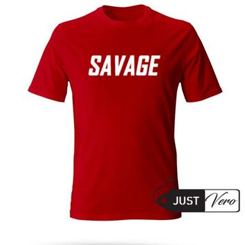 Savage Newest T shirt size XS - 5XL unisex for men and women