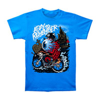 A Day To Remember Men's  Eyecycle T-shirt Blue