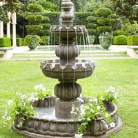 Three-Tier Castle Fountain