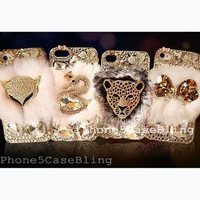 iphone 4 case, iphone 4s case, iphone 5 case, bling iphone 4 case, iphone 5 bling case, fur iphone 4 case, furry iphone 5 case, iphone 4s
