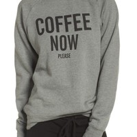 BRUNETTE Coffee Now Lounge Sweatshirt | Nordstrom