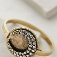 Half Moon Bangle by Anthropologie Gold One Size Bracelets