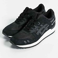 III Black Out Running Sneaker- Black